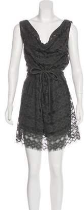 Calypso Mini Open Knit Dress