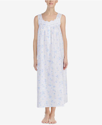 Eileen West Ballet Venise-Lace Woven Nightgown