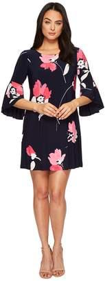 Lauren Ralph Lauren Tycenda Galleria Floral Matte Jersey Dress Women's Dress