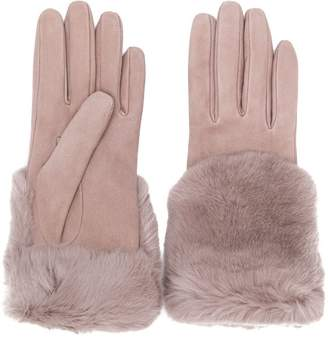 Gala fur-trim gloves