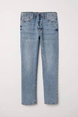 H&M Straight Jeans - Light denim blue - Men