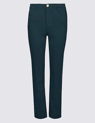 Marks and Spencer Straight Leg Roma Rise Jeans