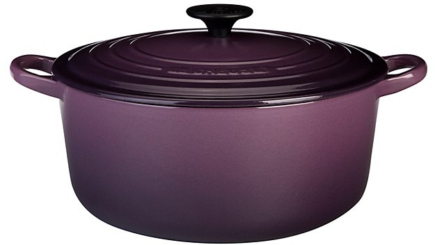 Le Creuset 3.5-Quart Round French Oven, Cassis