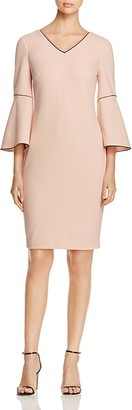 Calvin Klein Bell Sleeve Dress - 100% Exclusive $129.50 thestylecure.com