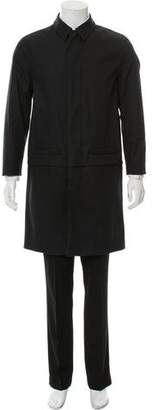 Givenchy Point Collar Trench Coat
