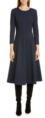 Lafayette 148 New York Topenga Cashmere Fit & Flare Dress