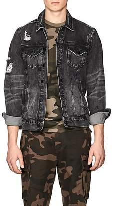 Ovadia & Sons Men's Distressed Denim Jacket