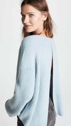 Le Kasha Seoul Open Back Cashmere Sweater