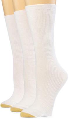 Gold Toe GoldToe 3-pk. Non-Binding Crew Socks- Women's
