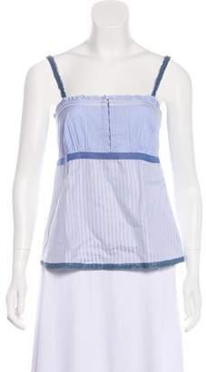Pinko Sleeveless Striped Top