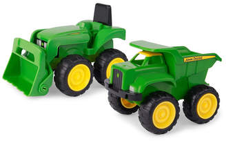 "John Deere Optimum Fulfillment Tomy 6"" Sandbox Vehicle, 2 Pack"