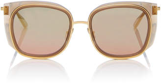 Thierry Lasry Everlast Square-Frame Acetate Sunglasses