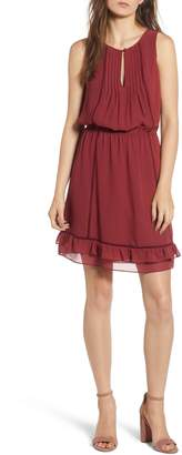 Rebecca Minkoff Lorena Tiered Hem Dress