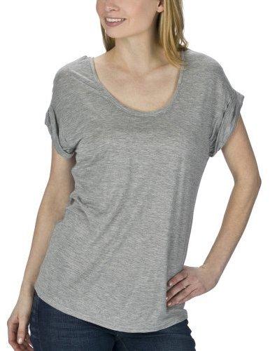 Mossimo Black Short Sleeve Boxy Tee - Heather Gray