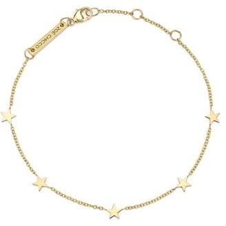 Chicco Zoë 14K Yellow Gold Star Bracelet