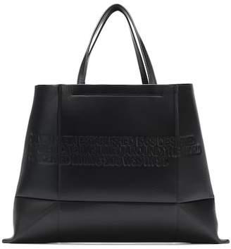 Calvin Klein Logo leather tote