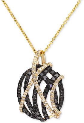 Effy Diamond Pendant Necklace (9/10 ct. t.w.) in 14k Gold