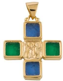 Tagliamonte 14K Venetian Intaglio Cross Pendant