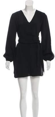 Marc Jacobs Long Sleeve Mini Dress