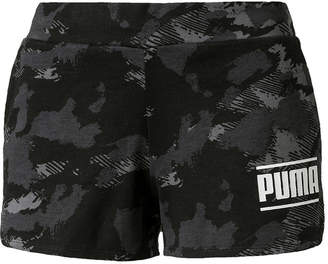 Puma Womens Mid Rise 3 Running Short