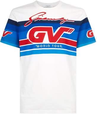 Givenchy Motocross Logo Printed T-Shirt