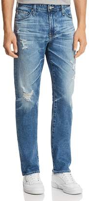 AG Jeans Everett Slim Straight Fit Jeans in 15 Years Swept Up
