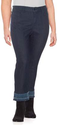 NYDJ Plus Marilyn Straight Ankle Jeans
