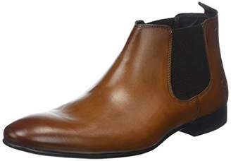 Base London Croft Men's Chelsea Boots Beige Size: