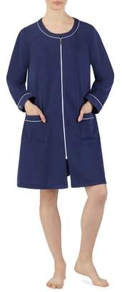 Eileen West Quilted Zip Robe