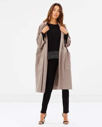 Uptown Oversized Robe Coat