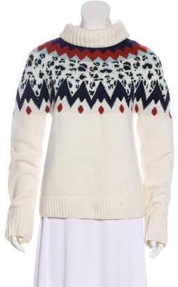 Veronica Beard Turtleneck Long Sleeve Sweater