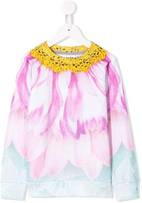 Molo flower petal blouse