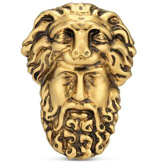 Gucci Hercules mask ring