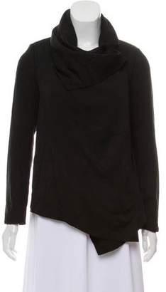 AllSaints Draped Wide Collar Jacket