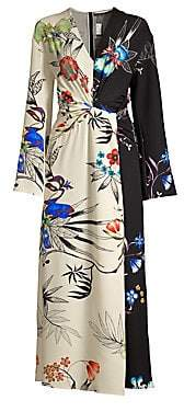 Etro Women's Tropical Print Maxi Dress