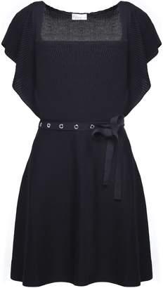 RED Valentino Wool-knit Midi Dress