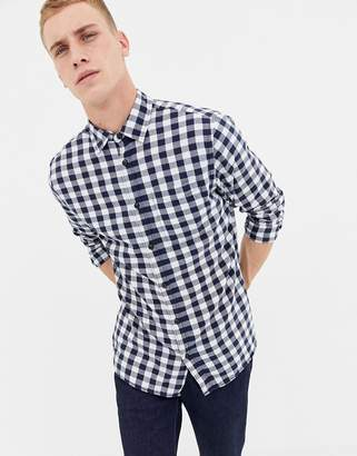 Jack and Jones Originals slim fit gingham shirt