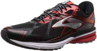 Brooks Men's Ravenna 7 Black/Highriskred/Silver sneakers-and-athletic-shoes 10 D