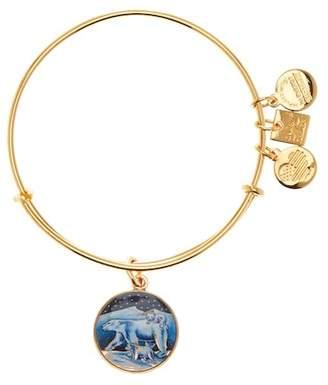 Alex and Ani Polar Bears Expandable Wire Bracelet