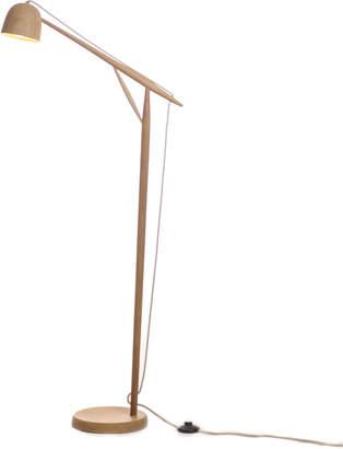 Summer Studio White Oak Floor Lamp