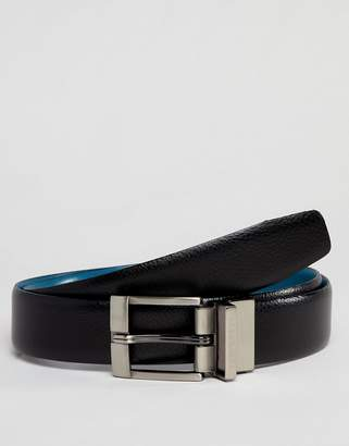 Ted Baker Longas Reversible Belt in Leather