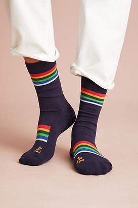 Pendleton Crater Lake Striped Crew Socks