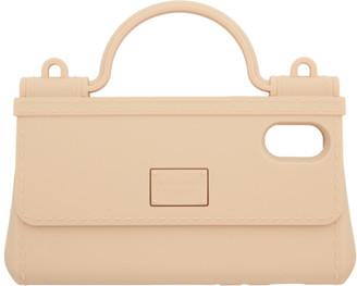 Dolce & Gabbana Pink Bag Shape iPhone X Cover