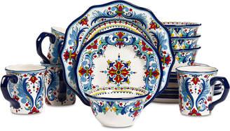 Tabletops Unlimited San Marino Italian 16-Pc. Dinnerware Set