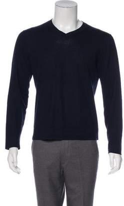 Theory Knit V-Neck Sweater