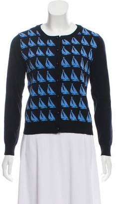 Milly Long Sleeve Pattern Cardigan