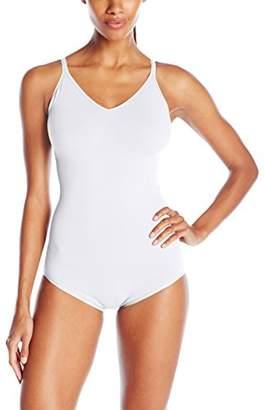 Yummie Women's Conner Seamless Convertible Halter Bodysuit