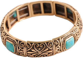 Artsmith BY BARSE Art Smith by BARSE Turquoise Stretch Bangle