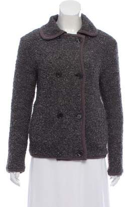 Marc by Marc Jacobs Wool Trimmed Double-Breasted Jacket
