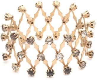 Lulu Frost Antique Expandable Bracelet with Paste Stones